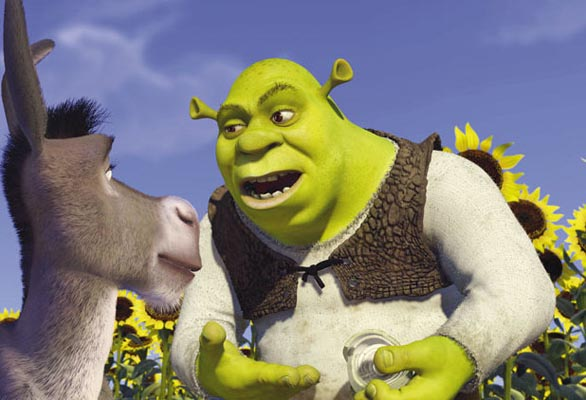 Image result for shrek and donkey layers