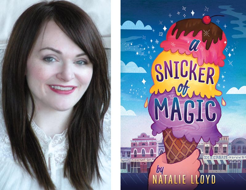 Interview with middle grade A SNICKER OF MAGIC author Natalie ...